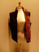 Men's Suede & Leather Vest in Quad Cities, Iowa