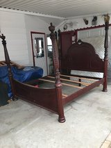 King bed in Fort Riley, Kansas