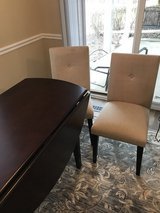 """60"""" Drop Leaf Table w/2 Chairs in Bolingbrook, Illinois"""