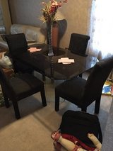 Dining room table in Bolingbrook, Illinois