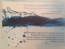 Cleaning Eagle Pressure Washing Company in Clarksville, Tennessee