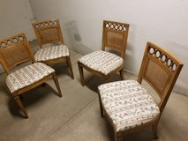 Wooden Dining chairs. in Bolingbrook, Illinois