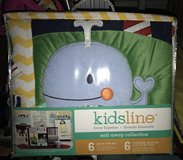 Brand New! 6 piece KidsLine from Sail Away Collection CRIB SET in Bolingbrook, Illinois