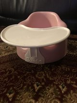 Pink Bumbo baby seat with Removable Tray in Bolingbrook, Illinois