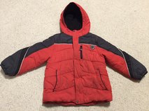 Boys Red with some black coat - 5 in St. Charles, Illinois