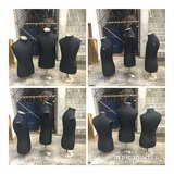 3 pcs Mannequin used set in Okinawa, Japan