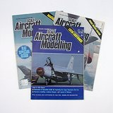 Scale Aircraft Modelling Magazines May, June, July 1987 in Aurora, Illinois