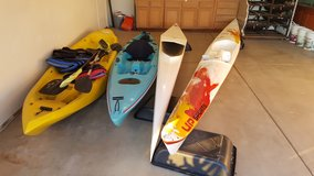 kayaks in Yucca Valley, California