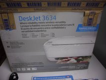 FOR SALE:HP DeskJet 3634 Compact All-in-One Photo Printer Wireless & Mobile Printing NEW, in Bartlett, Illinois
