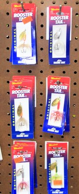 Rooster Tail Lures in Leesville, Louisiana