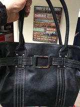 Nice Black Sectional Handbag/Purse, Silver Accent in Camp Pendleton, California