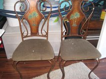 A Set of 4 Wrought Iron Chairs in Camp Lejeune, North Carolina