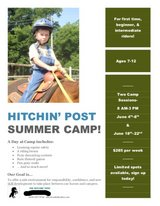 Hitchin' Post Summer Camp in Perry, Georgia