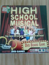 High school musical DVD board game in Alamogordo, New Mexico