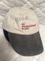Cap: Autographed by Phil Valentine in Byron, Georgia