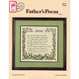 FATHER'S  POEM,  1983 Counted Cross Stitch Chart, Melinda in Chicago, Illinois