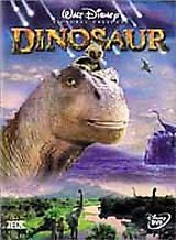 Dinosaur (DVD, 2001) Children's Kid's Jurassic Park Cave Man in Kingwood, Texas