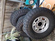 Tires in Fort Bliss, Texas