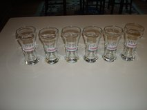 "Set of ""6"" HAMM'S From the land of sky blue waters Sham Beer Glasses!! in Brookfield, Wisconsin"