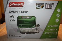 New Coleman Even Temp 3 burner stove in Fort Benning, Georgia