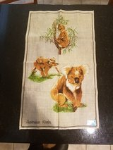 Collectible Australian Koala Linen Cloth in Sandwich, Illinois