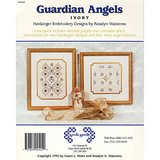 NORDIC NEEDLE HARDANGER EMBROIDERY Angel Charts w/ TWO Buttons in Naperville, Illinois