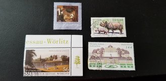 German stamps in Fort Bliss, Texas