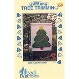 "CHRISTMAS TREE FLAG applique pattern 11x14"" in Chicago, Illinois"