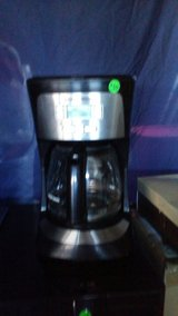 black and decker 12 cup coffee pot in 29 Palms, California