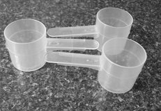 Brand New Clear Plastic Scoops Disposable Various Sizes in Joliet, Illinois