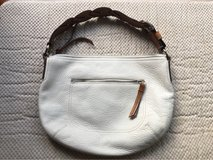 White Leather Coach Bag in Okinawa, Japan