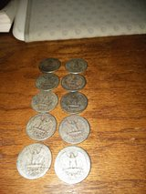 Quarters Silver Washington's. For the young and old collector in Alamogordo, New Mexico
