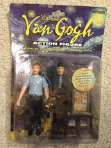 Vincent Van Gogh action figure in St. Charles, Illinois