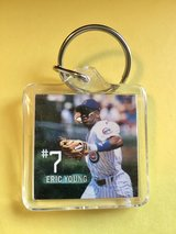 Chicago Cub Keychain - Eric Young #7 in Plainfield, Illinois