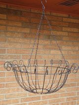 Lge.hanging basket 8Hx20.5W in Oswego, Illinois