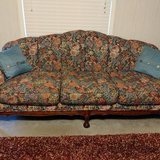 Beautiful floral print couch and loveseat in The Woodlands, Texas