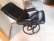 Leather reclining chair in Oswego, Illinois