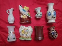 eight vintage vases in The Woodlands, Texas