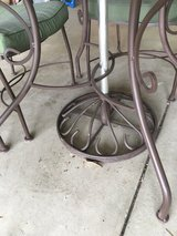 Iron Patio Table in Oswego, Illinois
