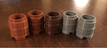 Small Lego Barrels in St. Charles, Illinois