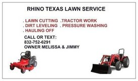 RHINO TEX LAWN SERVICE in Baytown, Texas