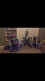 Monster High Castle and High School in Fort Drum, New York