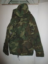 Parka extended cold  weather in Ramstein, Germany