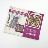 1972 NEEDLEPOINT Pattern BOOKLET BARGELLO HOT PANTS in St. Charles, Illinois