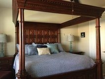 Solid Wood King-Sized Bedroom Set in The Woodlands, Texas