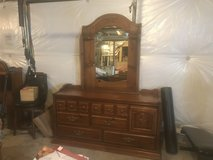 Dresser, Mirror and Headboard in Bolingbrook, Illinois