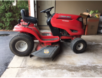 Troy-Built riding lawn mower in Lockport, Illinois