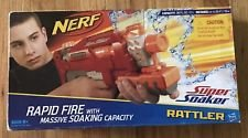 NEW Nerf Super Soaker Rattler RED Rapid Fire w/Massive Soaking Capacity - 25 Ft. in Tinley Park, Illinois