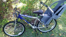Roadmaster 26 inch bicycle With kid carrier in Kingwood, Texas