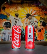 ASTROS World Series Special Limited Edition Coca-Cola COKE Can - New!! in Pearland, Texas